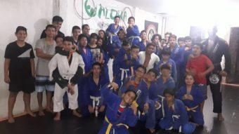 Jiu Jitsu started the new year